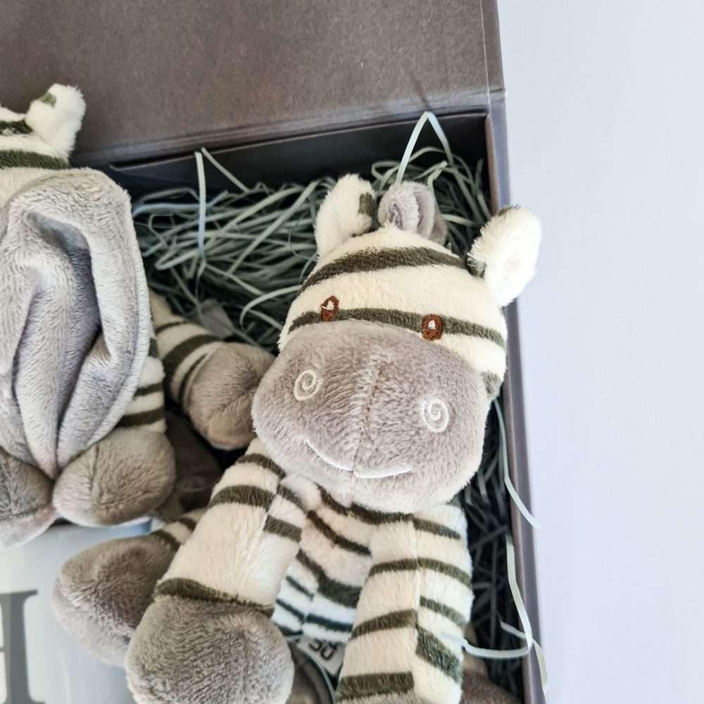 zebra baby hamper