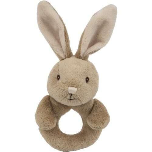 Bunny Rabbit Rattle Ring