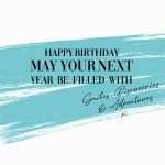 Filled With Smiles, Discoveries & Adventures Birthday Card