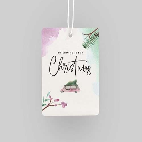 Driving Home for Christmas Car Air Freshener