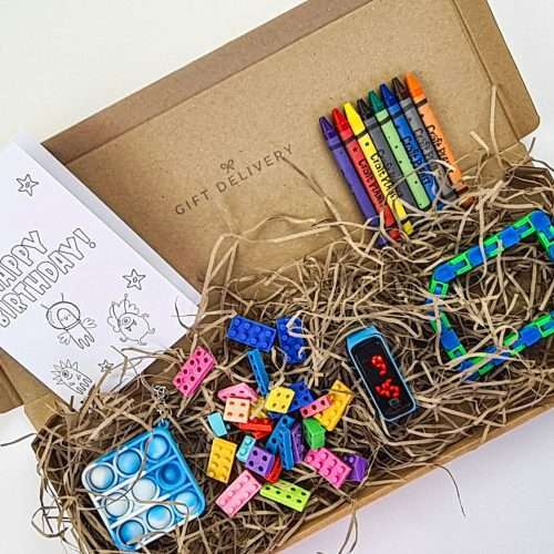 Childs Birthday Letterbox Gift for Him