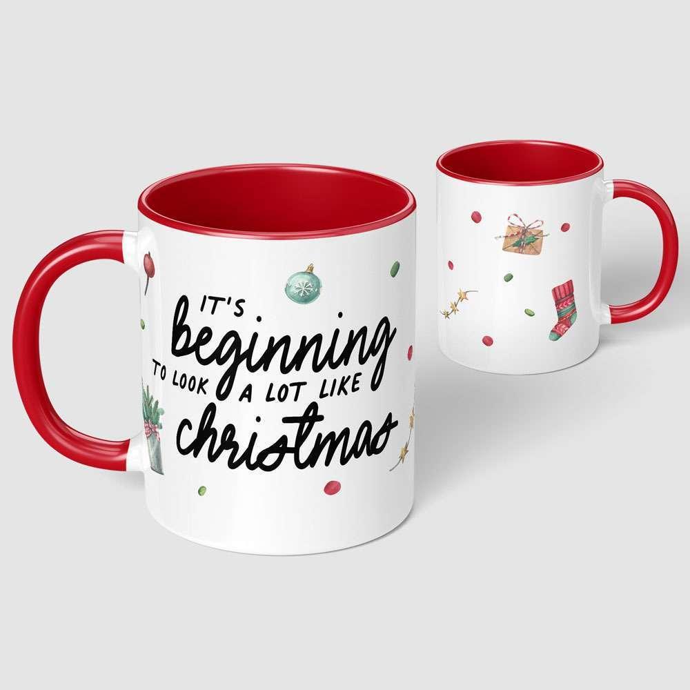 It's Beginning to Look a lot like Christmas Mug
