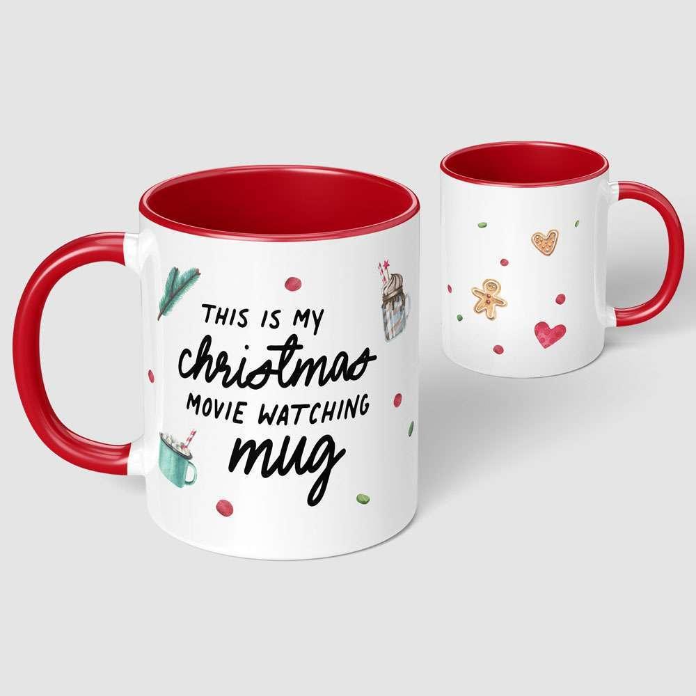 This is My Christmas Movie Watching Christmas Mug