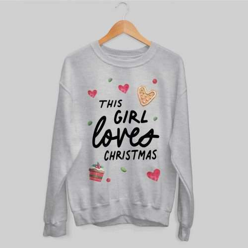 This Girl Loves Christmas Jumper