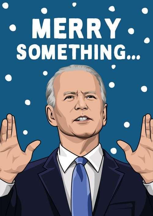 Joe Biden Christmas Card