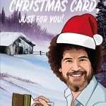 Bob Ross Christmas Card