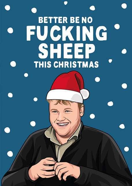 Kaleb from Clarkson's Farm Christmas Card