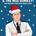 Line of Duty AC12 Ted Hastings Christmas Card